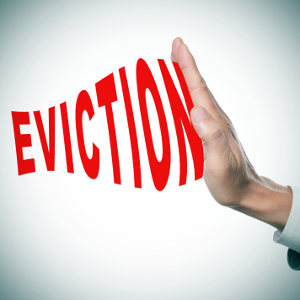 eviction in California